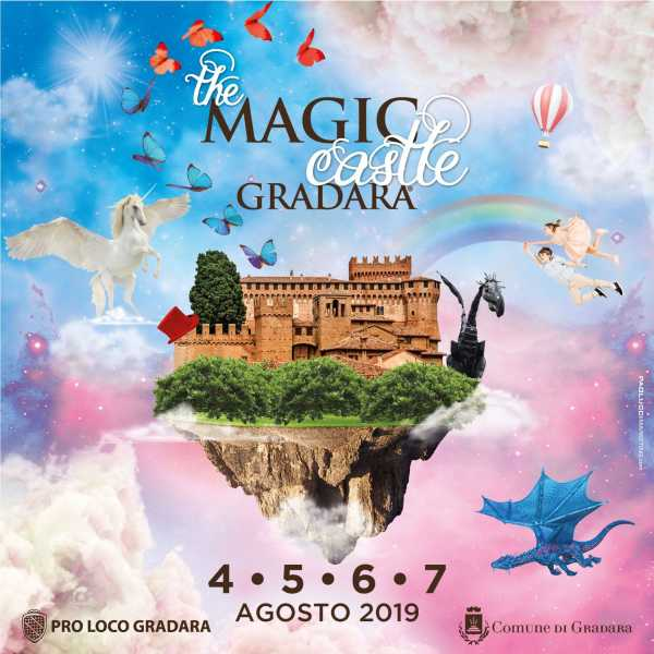 The Magic Castle - Gradara 4-7 agosto 2019